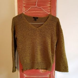 Sweaters - Lovely moss green spring J Crew sweater